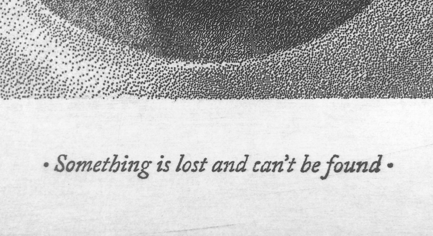 Cecilia Giampaoli_Something's lost and can't be found