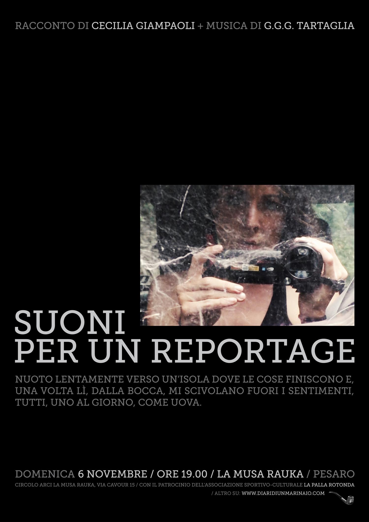Cecilia Giampaoli_Suoni per un reportage